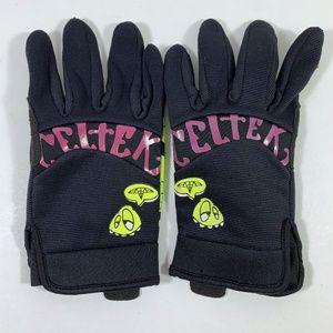 Celtek Mens Black Winter Gloves size medium